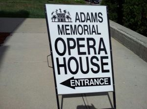 Opera House sign