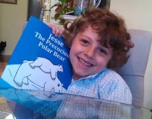 Jesse the Precocious Polar Bear dedicated to Jesse