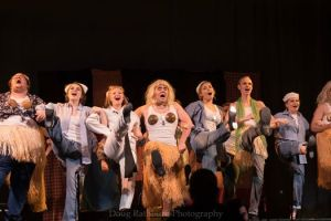 Chorus line in So Pacific