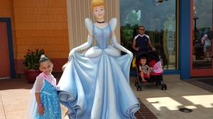 Leah with Cinderella