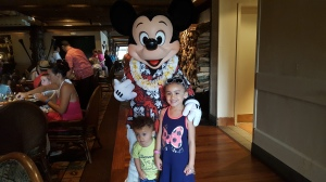 Mickey Mouse & kids
