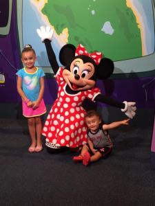 Minnie with kids