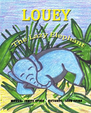 Louey_the_Lazy_Eleph_Cover_for_Kindle (2)