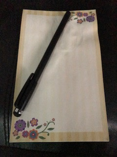 Paper and stylus