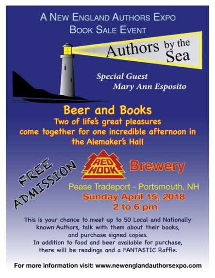 Author's Night by the sea flyer