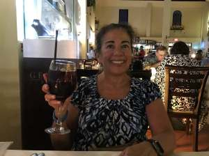 Red Sangria at Giannis 2018