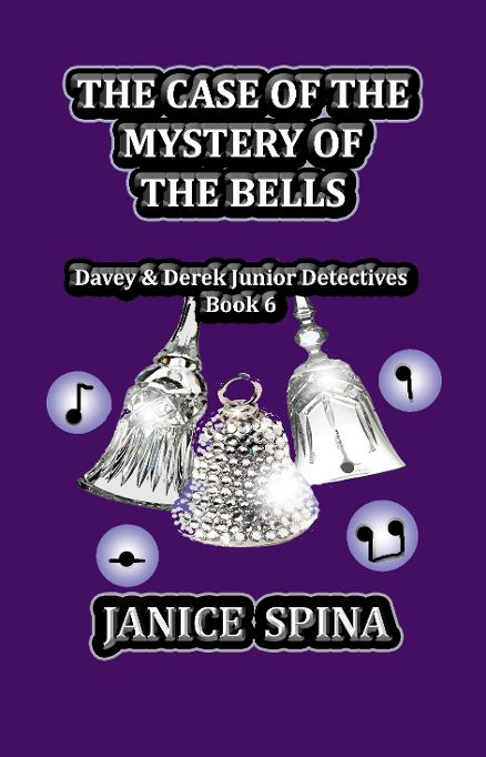 Cover Reveal – New Book from Jemsbooks – The Case of the Mystery of the Bells, Davey & Derek Junior Detectives, Book 6!
