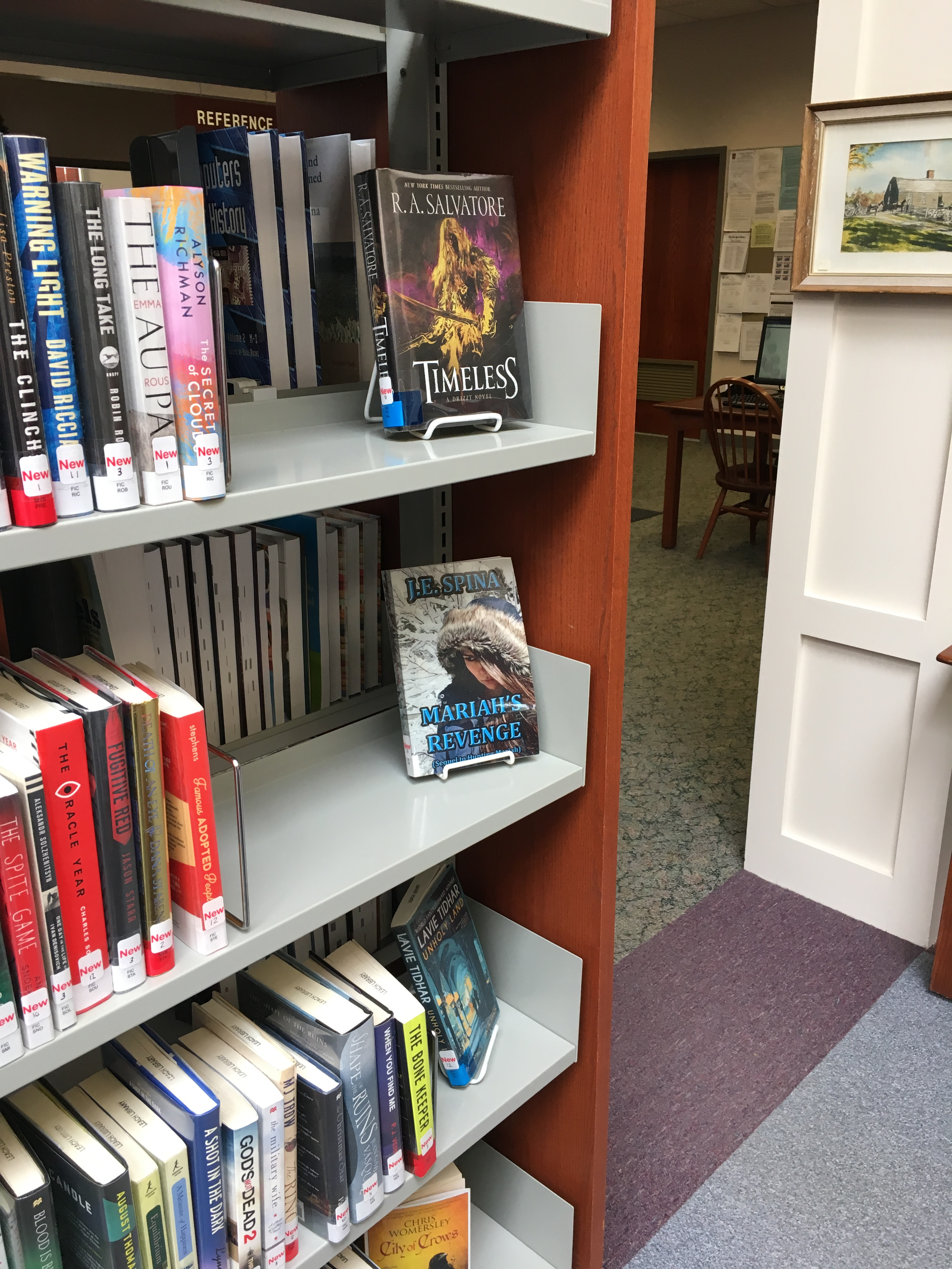 Mariah's Revenge Featured at Local Library! Book Clubs