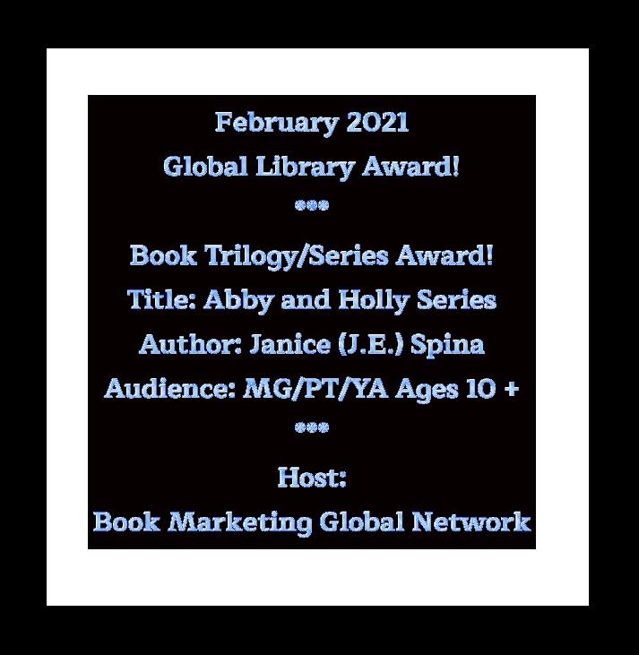 Abby & Holly Series Books 1-6 - Book Series Award - Boon Marketing Global Network